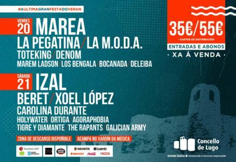 Horarios CAUDAL FEST 2019
