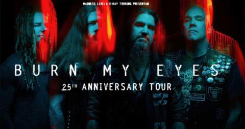 Conciertos Machine Head en el 25 Aniversario de «Burn My Eyes»