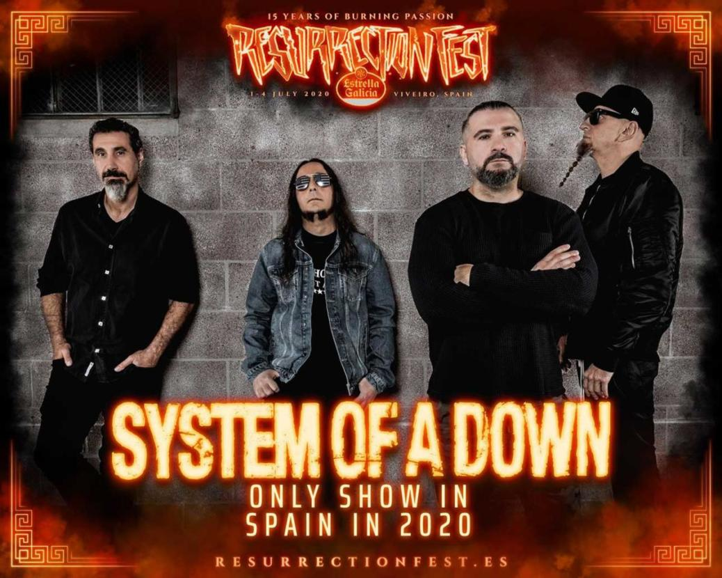 System of A Down Resu2020