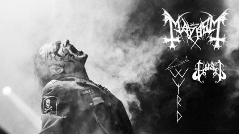Mayhem, Gaahl's WYRD y GosT ponen rumbo a la Península