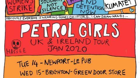 Petrol Girls anuncia nueva gira en Enero de 2020