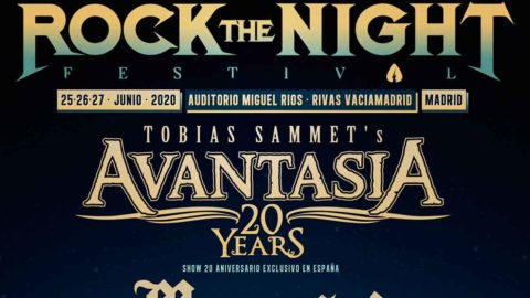 Avantasia encabeza las primeras confirmaciones en Rock The Night Festival 2020