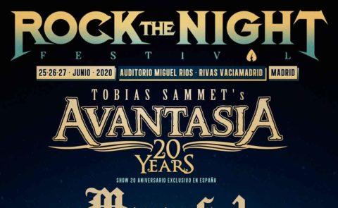 Avantasia encabeza las primeras confirmaciones en Rock The Night Festival 2020