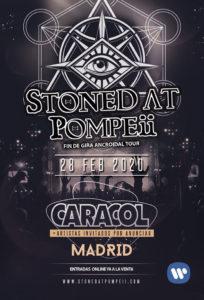 Cartel Concierto Madrid