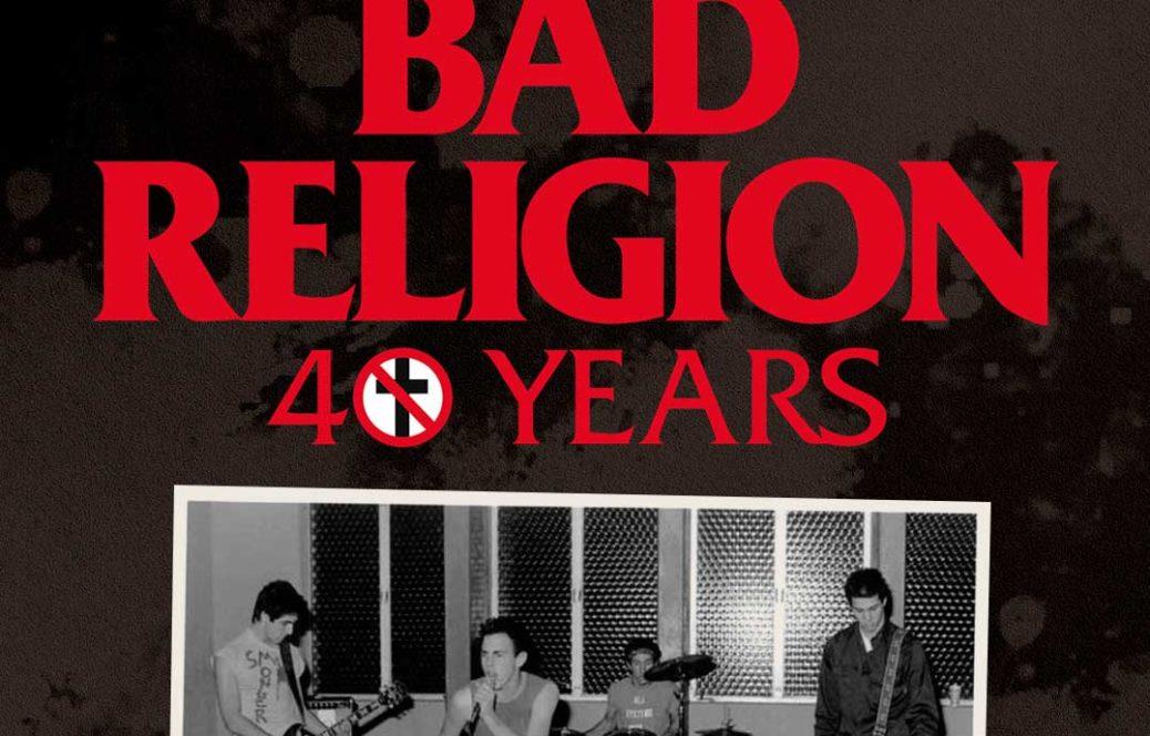 Conciertos de Bad Religion 40 años