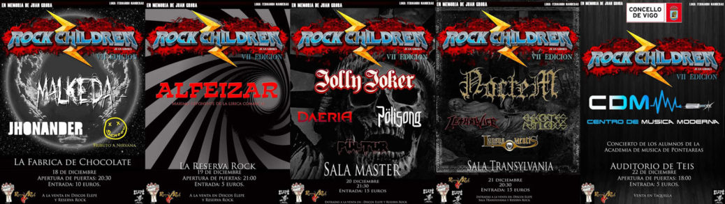 Carteles RocknRoll Children 2019