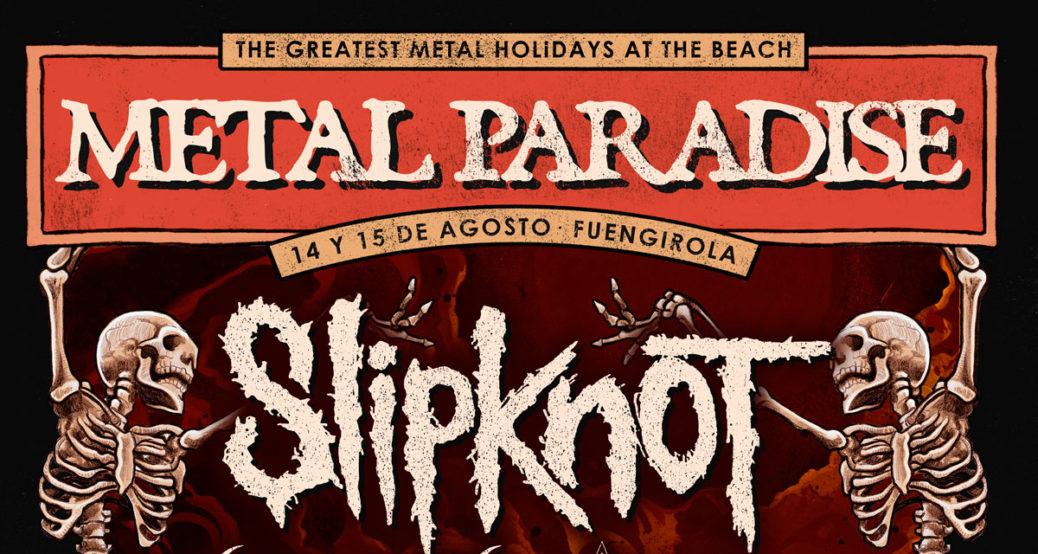Slipknot cabeza de cartel Metal Paradise