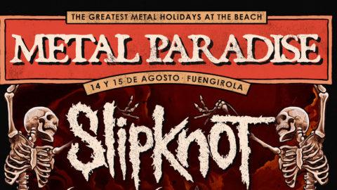 Cartel del Metal Paradise: Slipknot encabezará el festival de Fuengirola