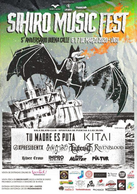 El II Sihiro Music Fest llegará a Vigo en Marzo