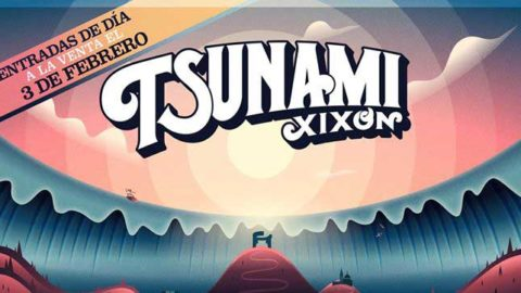 Cartel por días del Tsunami Xixón 2020
