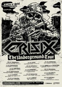 Cartel The Underground Tour Crisix