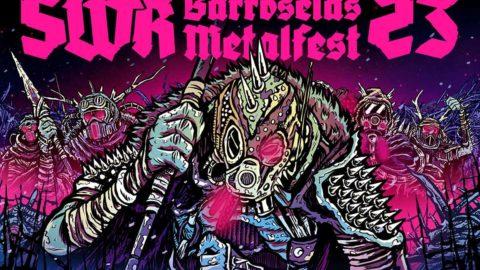 Cartel y distribución por días del SWR Barroselas Metalfest