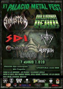 Cartel Palacio Metal Fest 2020