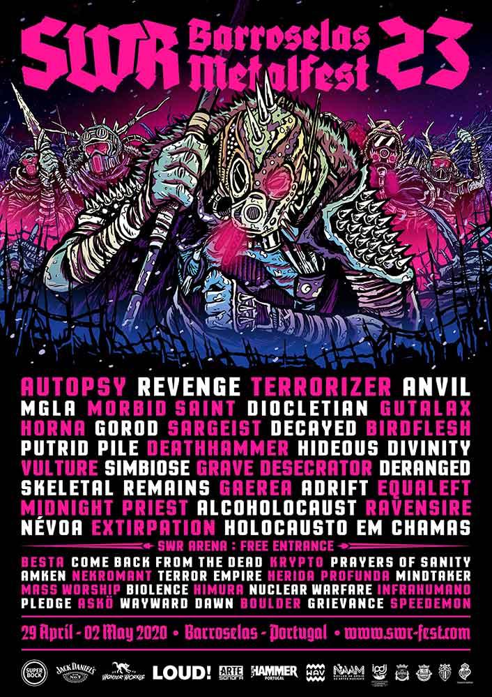 Cartel SWE Barroselas Metalfest 2020