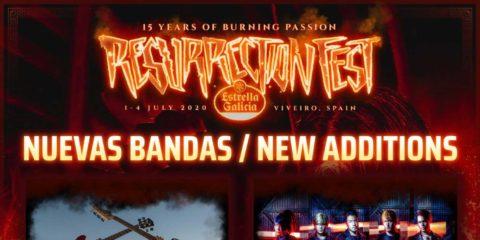 El Resurrection Fest emite un comunicado sobre su celebración a la vez que anuncia nuevas bandas.