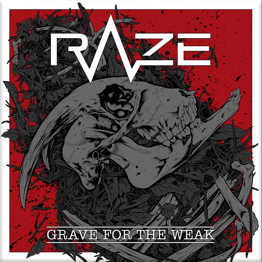 portada Grave for the weak Raze