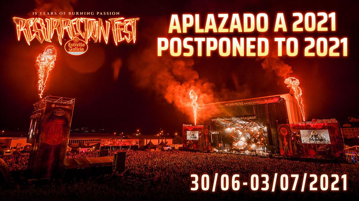 Cancelación Resurrection Fest 2020