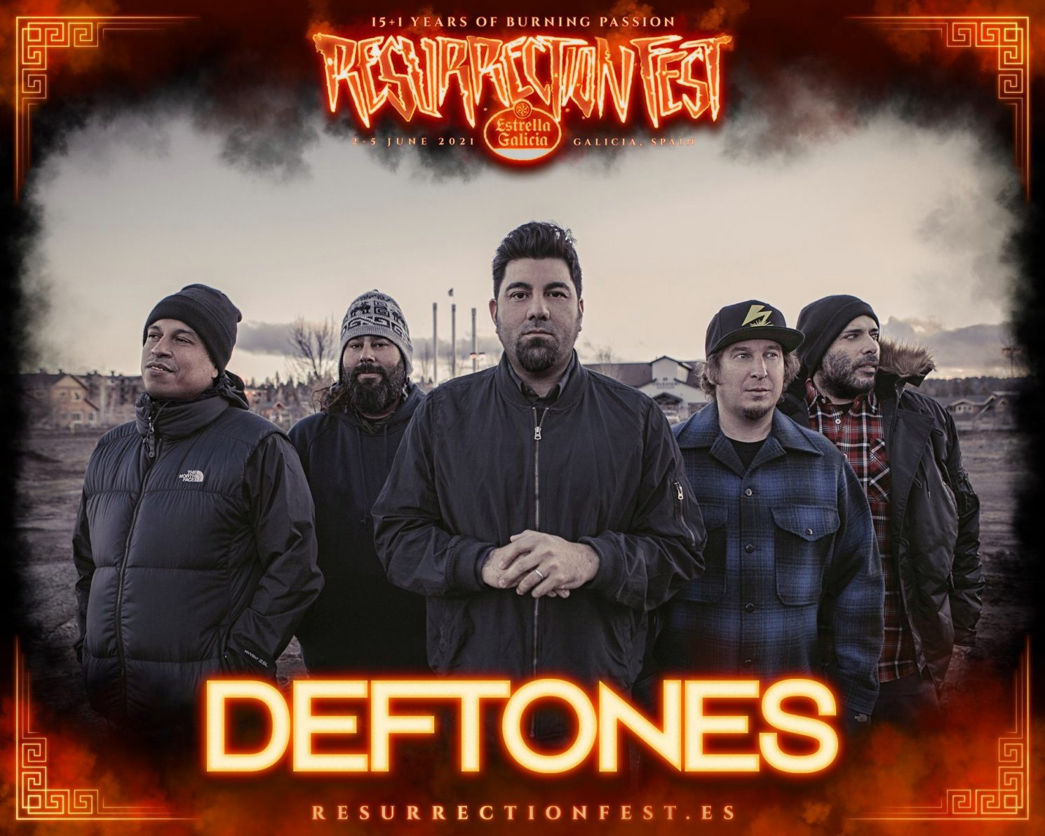 Deftones Cartel Resurrection Fest 2021