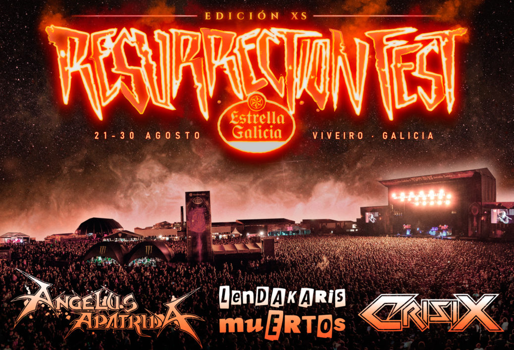 Cartel Resurrection Fest Estrella Galicia XS