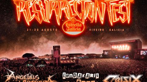 ¡CANCELADO! Cartel Resurrection Fest Estrella Galicia XS: El festival se reinventa en un ciclo de conciertos de aforo reducido y la máxima seguridad