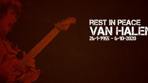 Muere Van Halen tras su larga batalla contra el cáncer de garganta