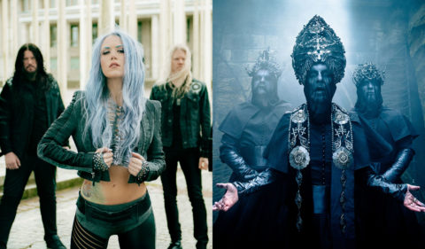 Arch Enemy y Behemoth cabezas de cartel una nueva gira de Route Resurrection