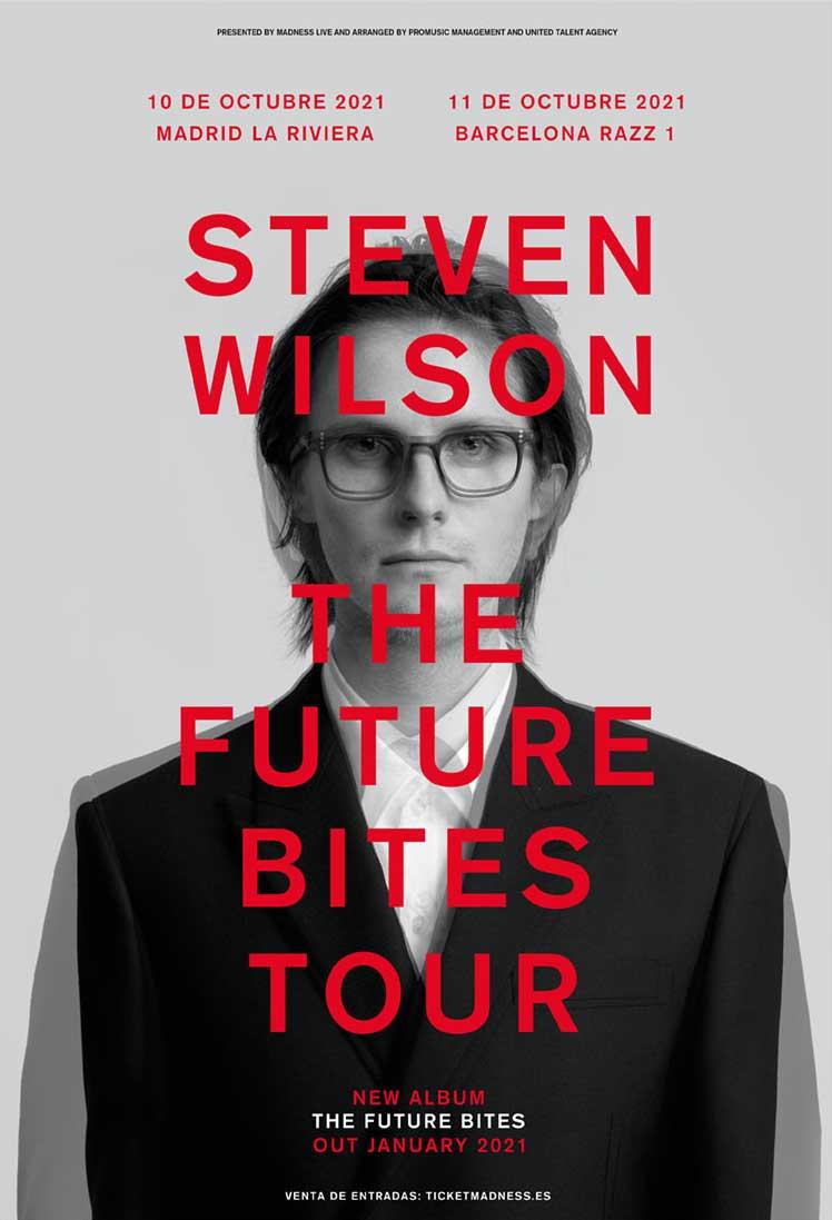 Cartel conciertos Steven Wilson