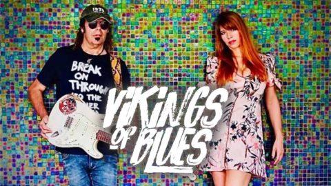 Jessy Howe y Javier Vargas presentan el tema 'Heart Go Blind' de su proyecto Vikings of Blues