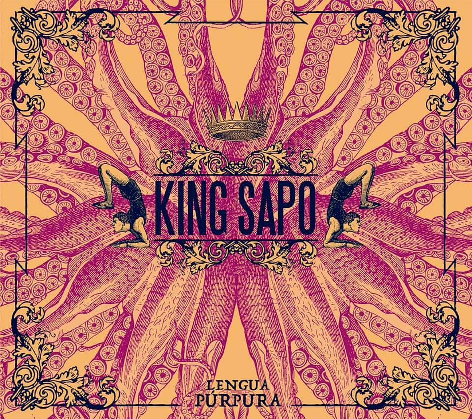 King Sapo Lengua Púrpura