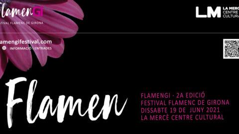 Cartel del Festival de Flamenco de Girona