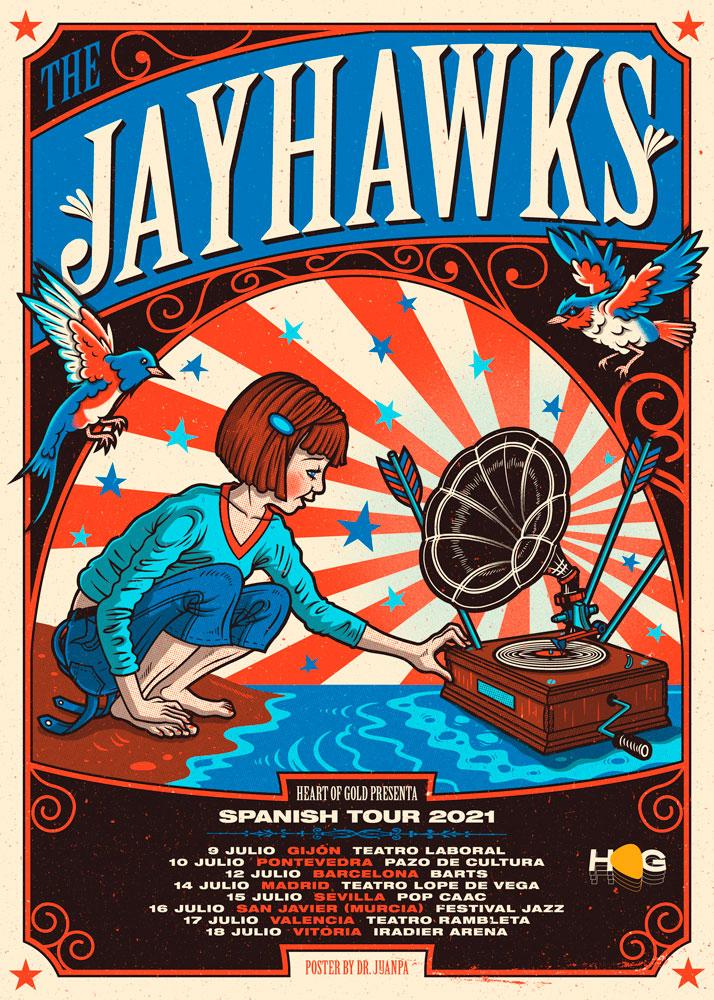cartel conciertos The Jayhawks 2021