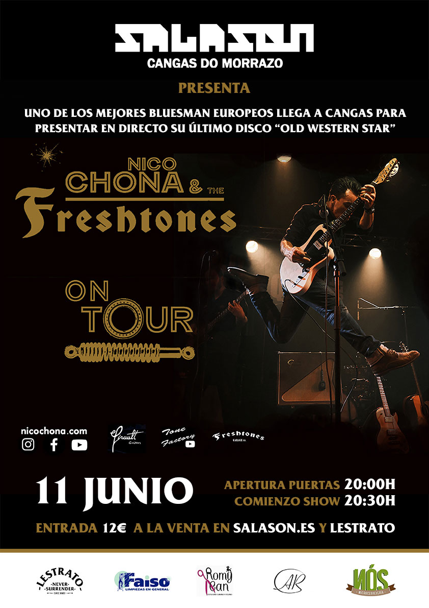 Cartel Nico Chona & The Freshtones Salason