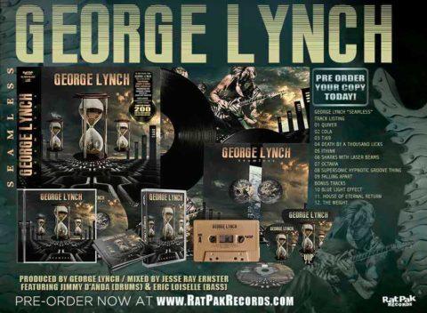 Adelanto de «Seamless», primer álbum instrumental del legendario George Lynch
