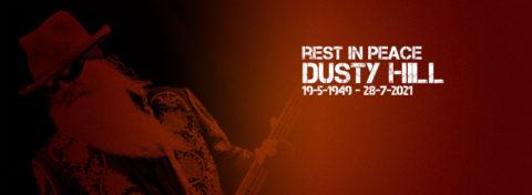 Nos deja Dusty Hill, bajista de los legendarios ZZ Top: «You will be missed greatly, amigo»