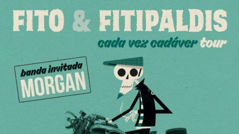 Conciertos de Fito & Fitipaldis presentando «Cada vez cadáver»: «Quiero salir a tocar y que la gente esté de pie»