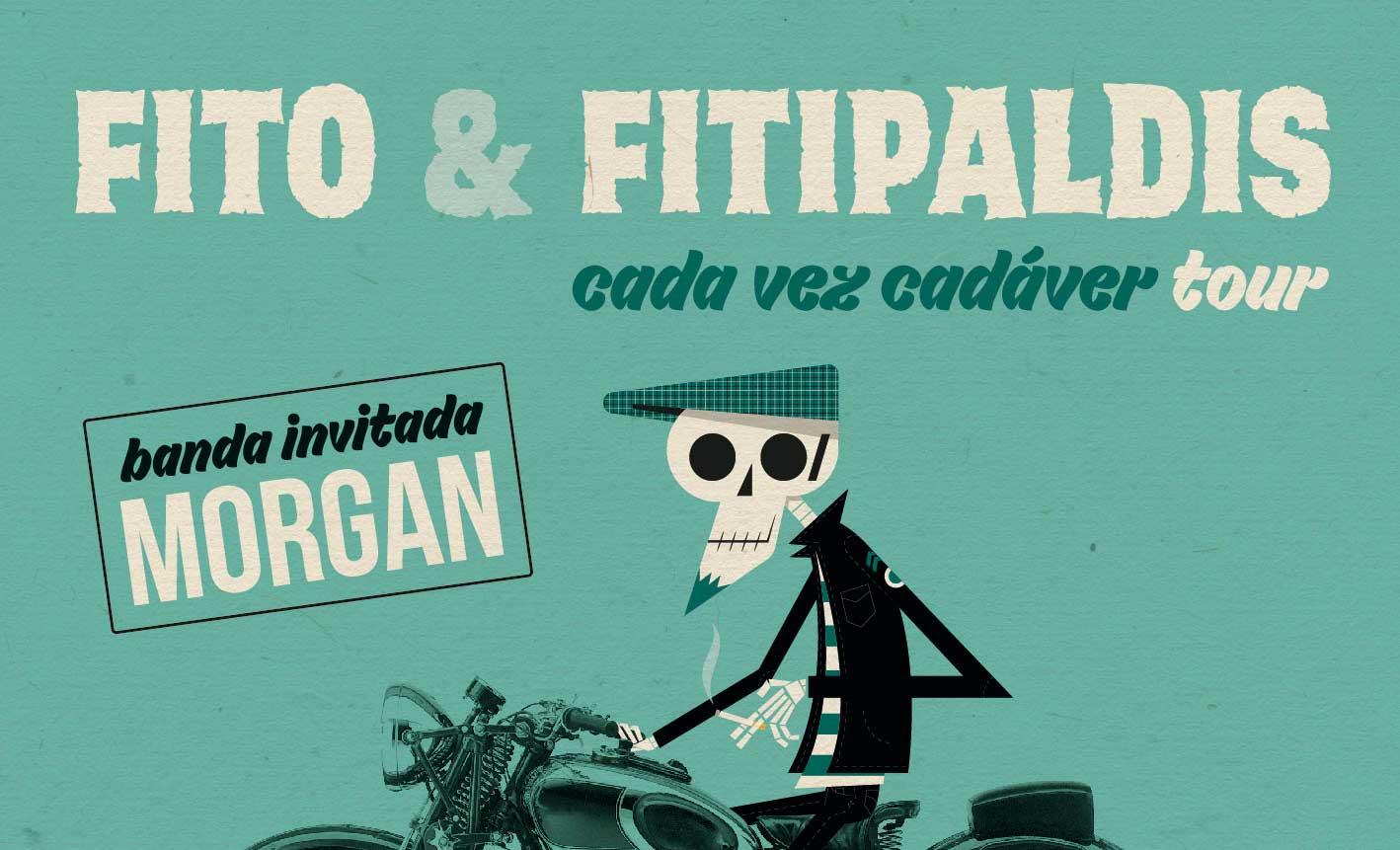 Fito & Fitipaldis Cada vez cadaver tour