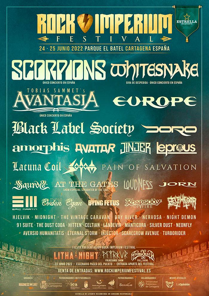 Cartel Rock Imperium Festival 2022