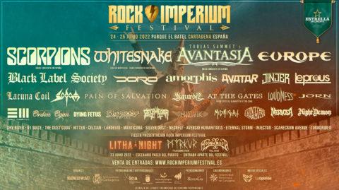 Cartel del Rock Imperium Festival 2022