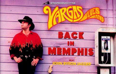 Conciertos de Vargas Blues Band con John Byron Jagger presentando su nuevo álbum «Back in Memphis»