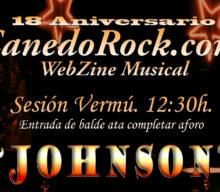 Cartel aniversario Canedo Rock: 18 años de música