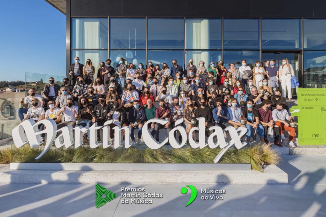 Finalistas premions Martín Codax 2021